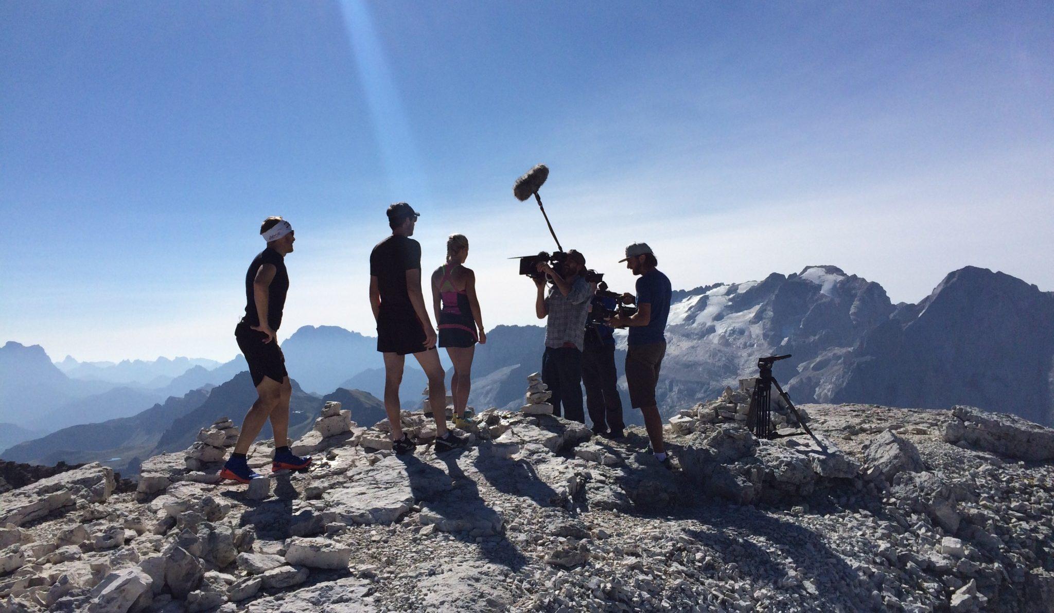 Das Kreuz mit dem Berg – Filmproduktion auf höchstem Niveau